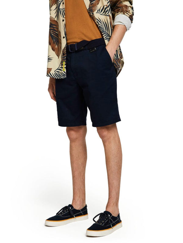 Scotch & Soda Mens Classic Chino Shorts - 5 Colours