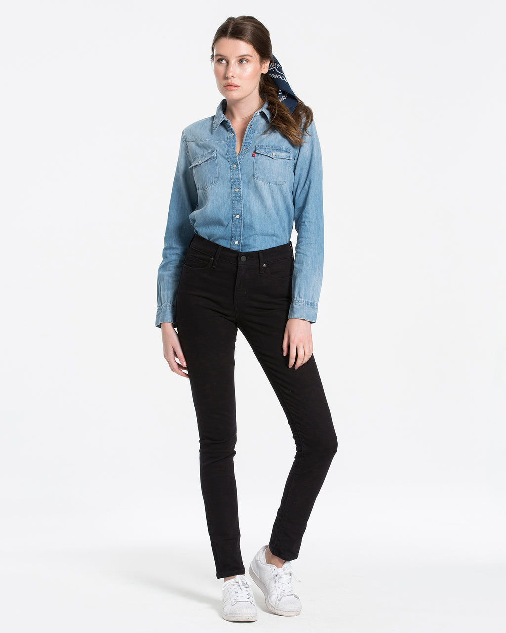 Levi's Womens 311 Shaping Skinny Jeans - Black Sheep