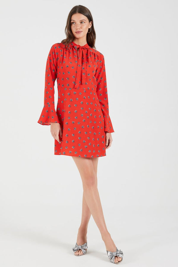 Cooper St Sophia Long Sleeve Mini Dress