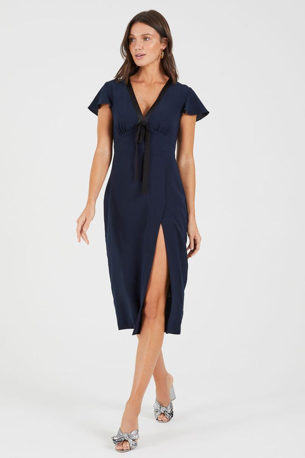 Cooper St Talk To Me High Split Dress