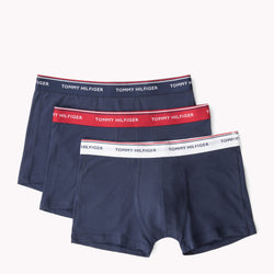 Tommy Hilfiger Mens Peacoat 3-Pack Cotton Trunks