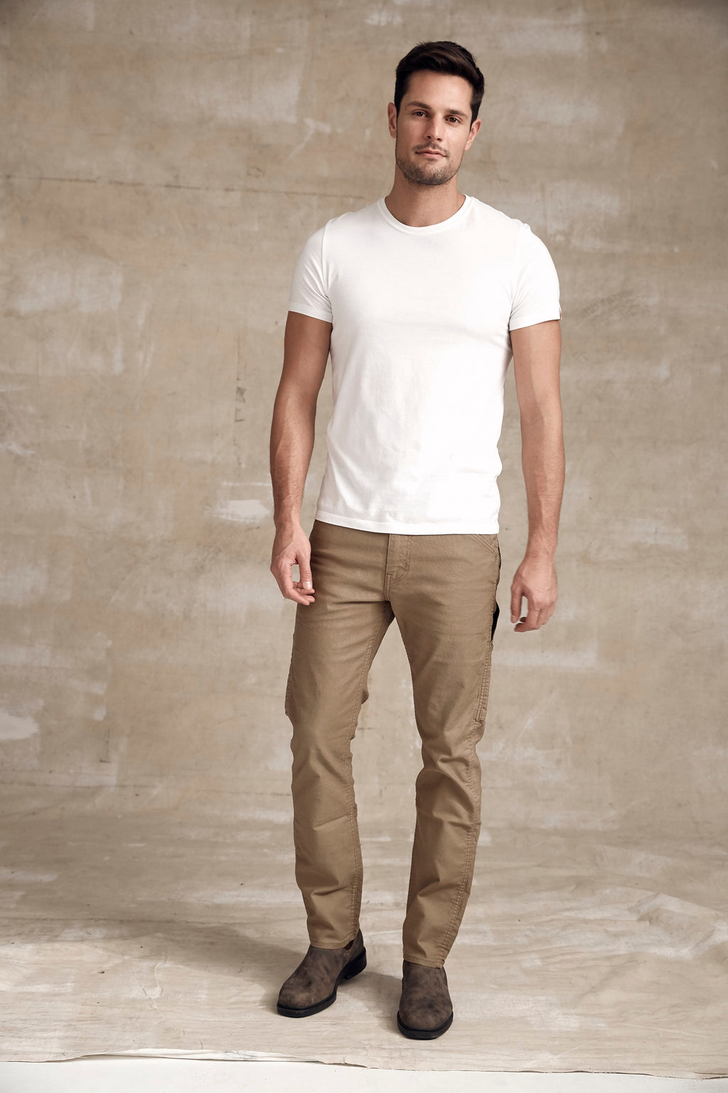 Levi's Mens 511 Slim Fit Workwear Utility Pants - Khaki