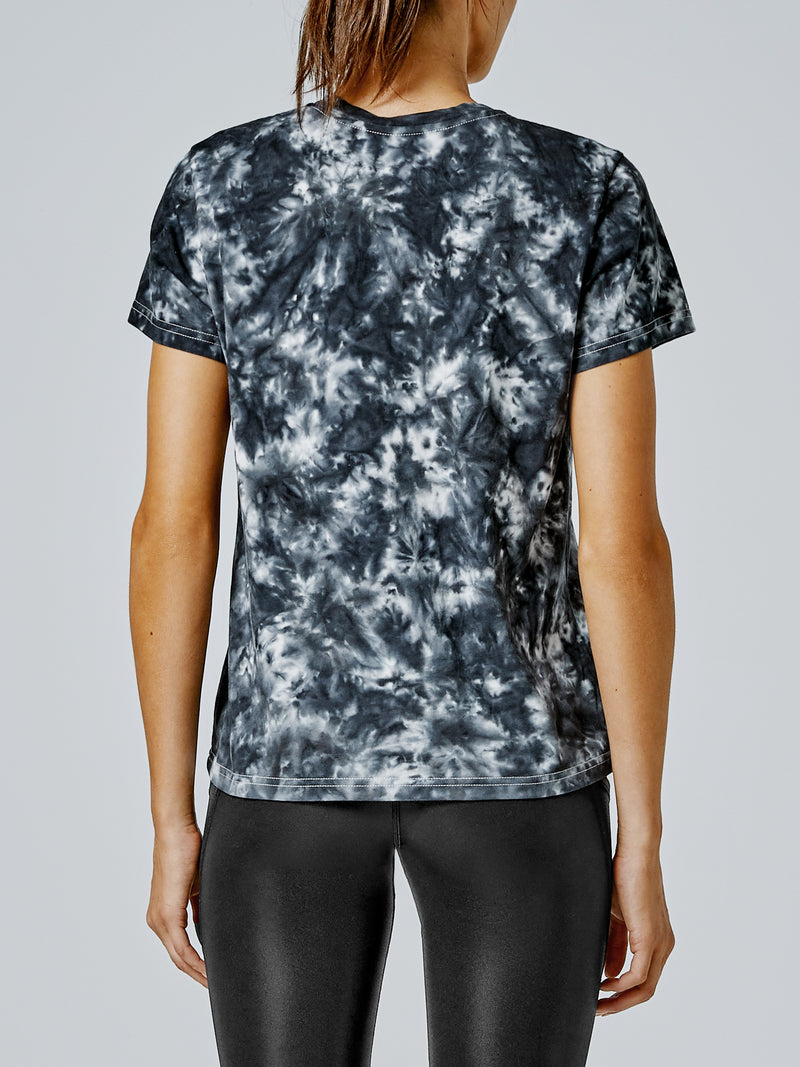 Running Bare Clean Cut Tee - Black