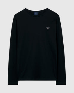 Gant Men's Original Long Sleeve Tee - Colours: White & Black