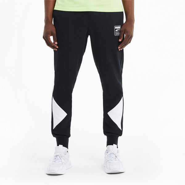 Puma Mens Rebel Black Advanced Pants