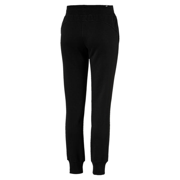 Puma Womens Essentials Fleece Pants - Black and Grey