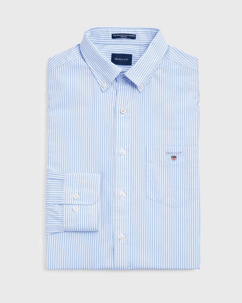 Gant Men's Broadcloth Banker Shirt
