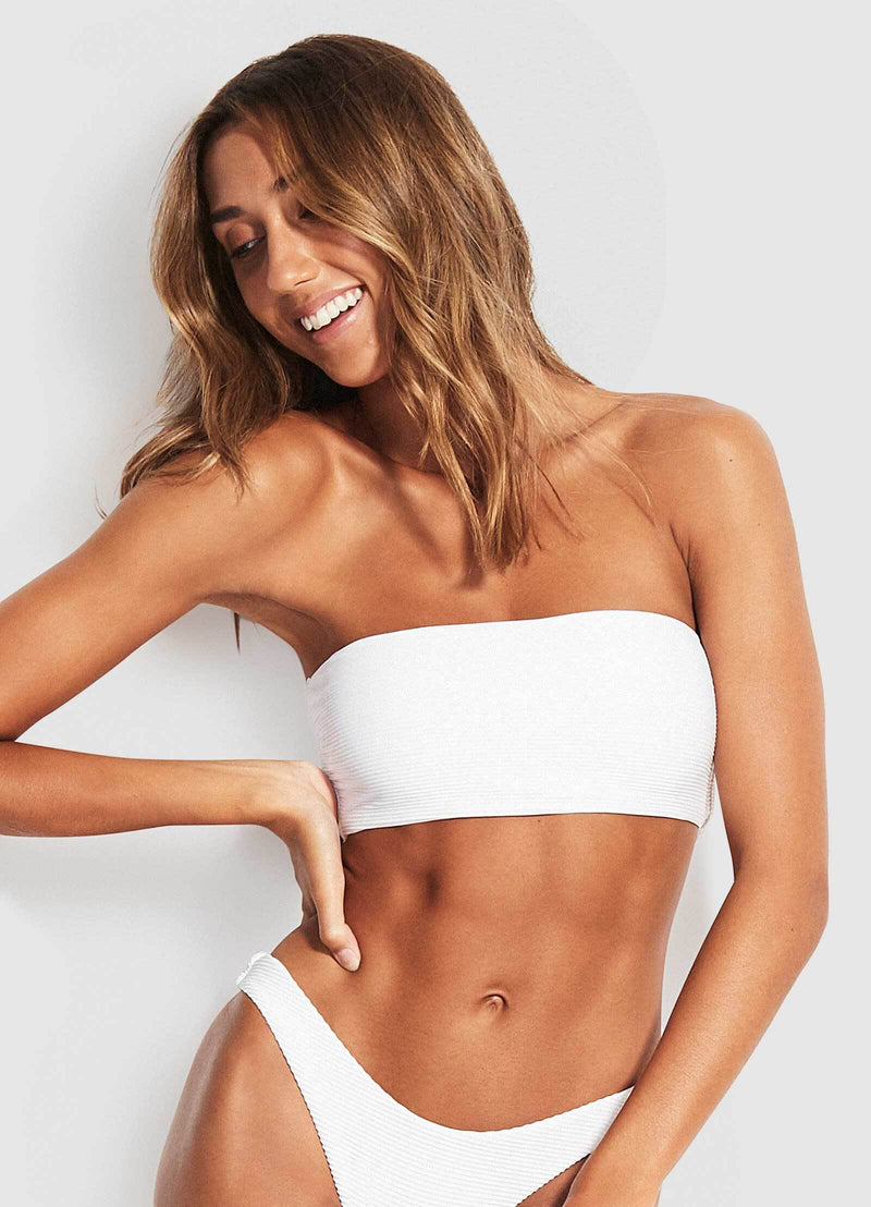 Seafolly Essentials Tube Bandeau Bikini Top - 3 Colours
