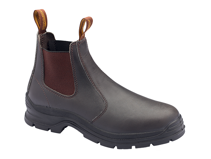 Blundstone 400 PU/TPU Elastic Side Non-Safety Brown Boot
