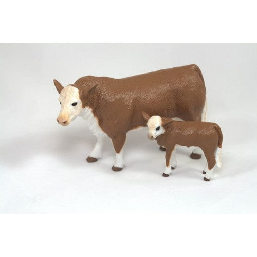 Big Country Toys Hereford Cow & Calf