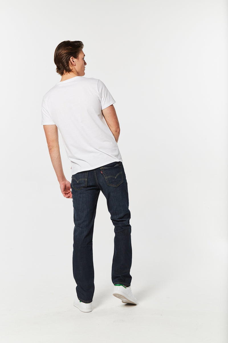 Levi's Mens 516 Straight Fit Jeans - Dark Petrol