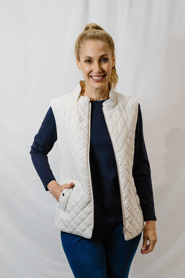 Goondiwindi Cotton Quilted Vest - 4 Colours