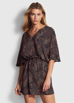 Seafolly Safari Spot Kaftan