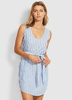 Seafolly Safari Spot Stripe Cover Up