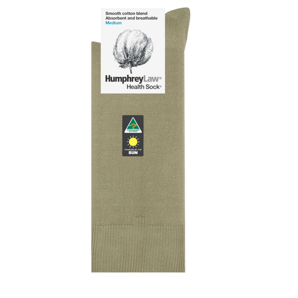 Humphrey Law Mercerised Cotton Health Sock - 5 Colours