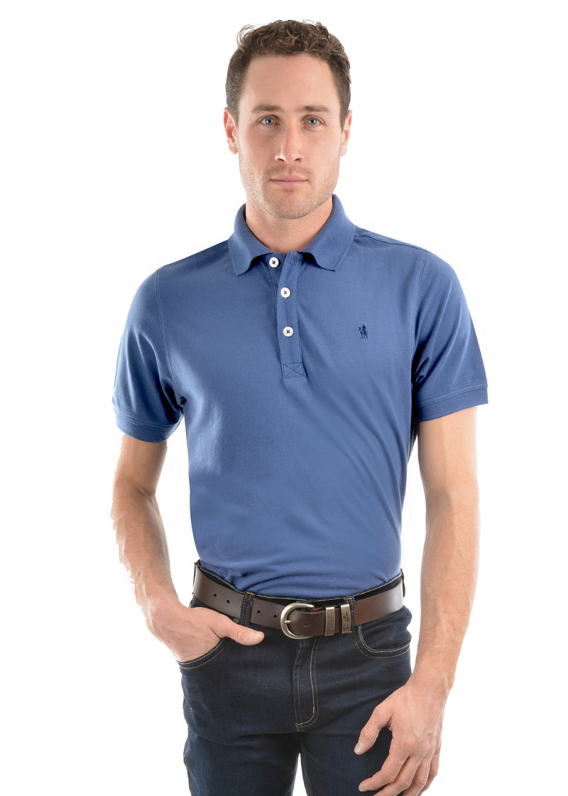 Thomas Cook Mens Tailored SS Polo - 6 Colours
