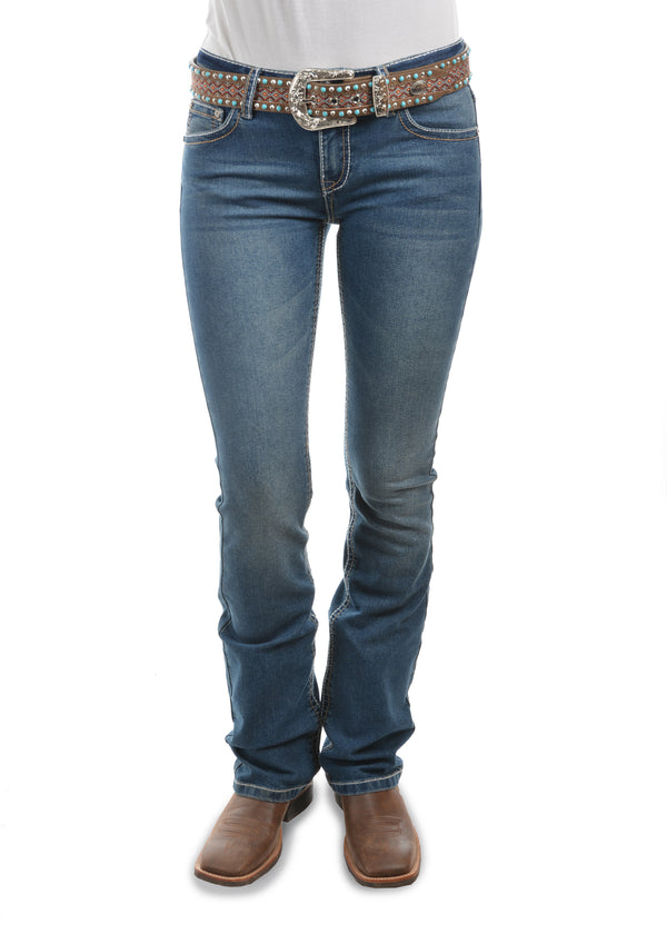 Pure Western Womens Brandy Boot Cut Jean