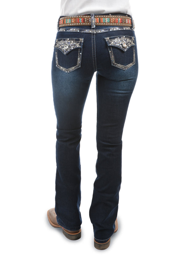 Pure Western Womens Taylor Boot Cut Jean