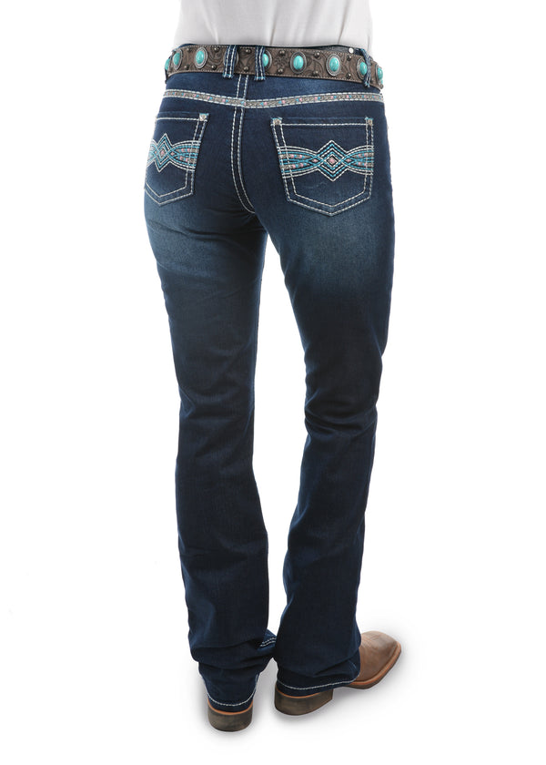 Pure Western Womens Indiana Relaxed Rider Jean