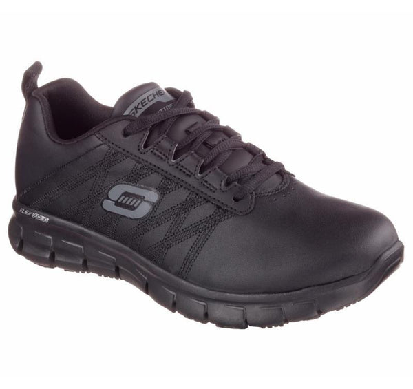 Skechers Womens Work Sure Track - Erath Shoe