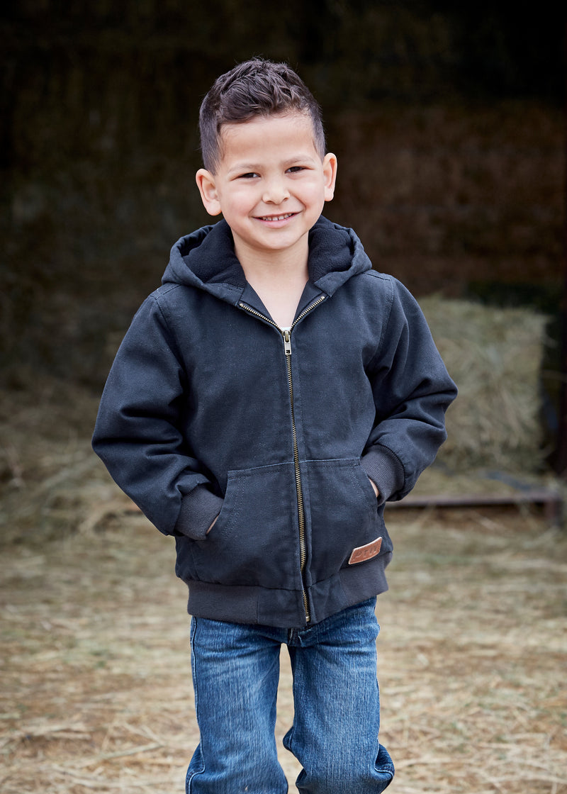 Pure Western Boys Canvas Jacket