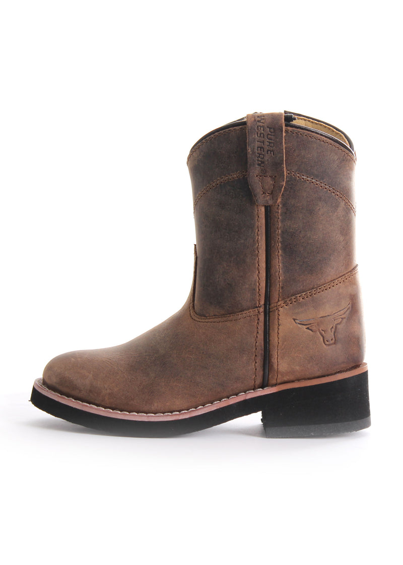 Pure Western Cooper Toddler Boot