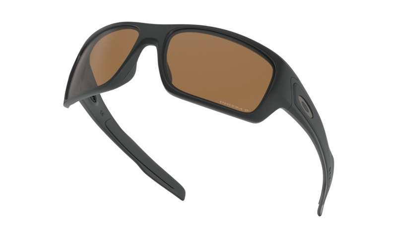 Oakley Turbine - Matte Black/Polarized Prizm Tungsten
