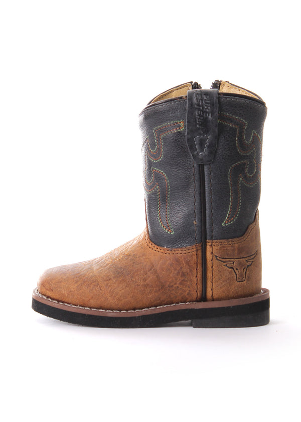 Pure Western Cole Toddler Boot