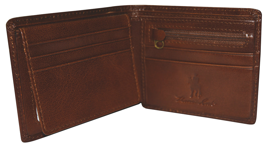 Thomas Cook Mens Leather Edged Wallet - 2 Colours