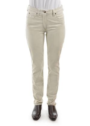 Thomas Cook Womens Stretch Moleskin Wonder Jean Mid-Reg-Slim - 2 Colours