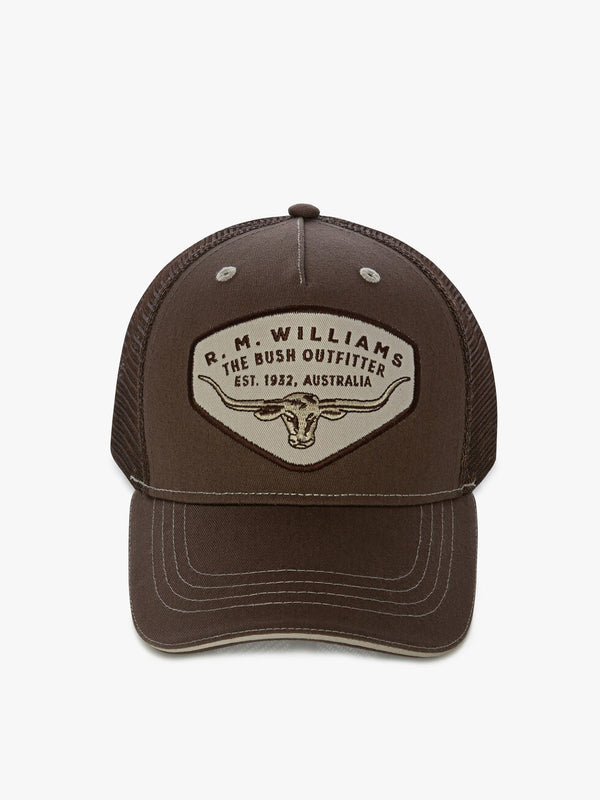 R.M. Williams Trucker Cap - Chocolate
