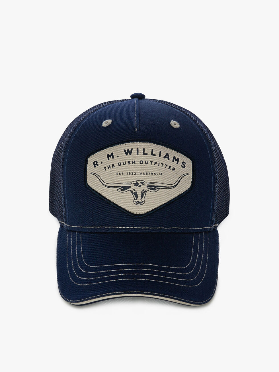 R.M. Williams Trucker Cap - Navy