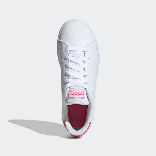 Adidas Advantage Shoes - White/Pink