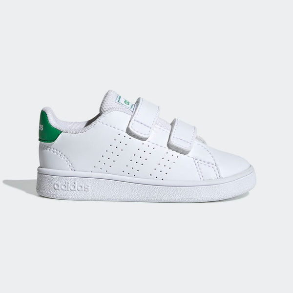 Adidas Advantage Shoes - White/Green