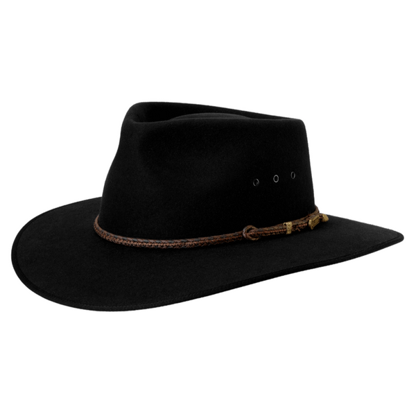 Akubra Cattleman Hat - Black