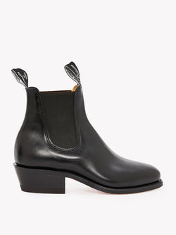 R.M. Williams Lady Yearling Boot - D Fit - Black