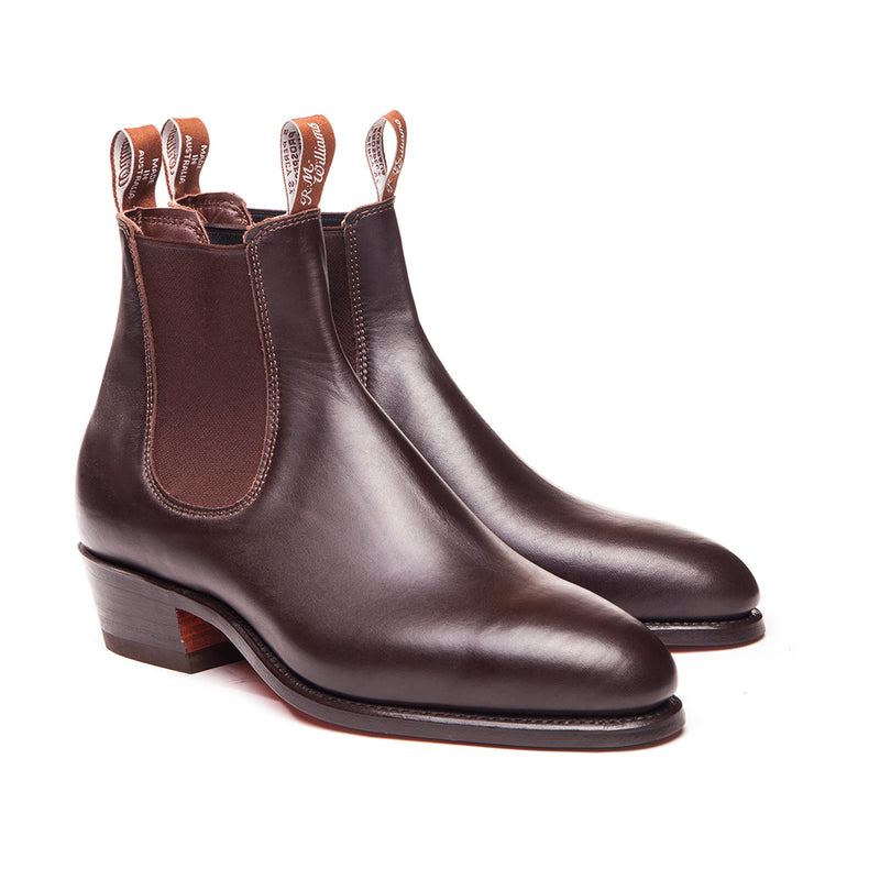 R.M. Williams Lady Yearling Boot - D Fit - Chestnut