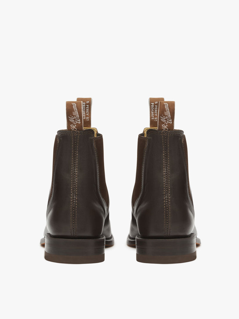 R.M. Williams Kangaroo Leather Comfort Craftsman - G Width - Chestnut