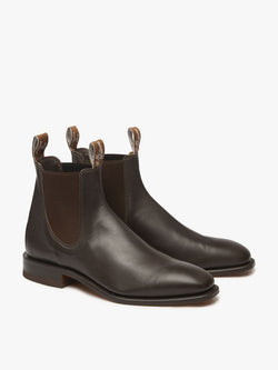 R.M. Williams Kangaroo Leather Comfort Craftsman - G Fit - Chestnut