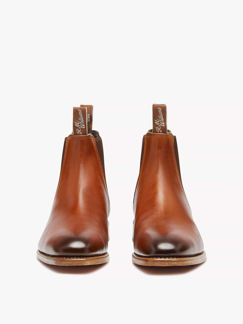R.M. Williams Chinchilla Boot - G Fit - Cognac