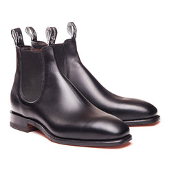 R.M. Williams Comfort Craftsman - H Fit - Black