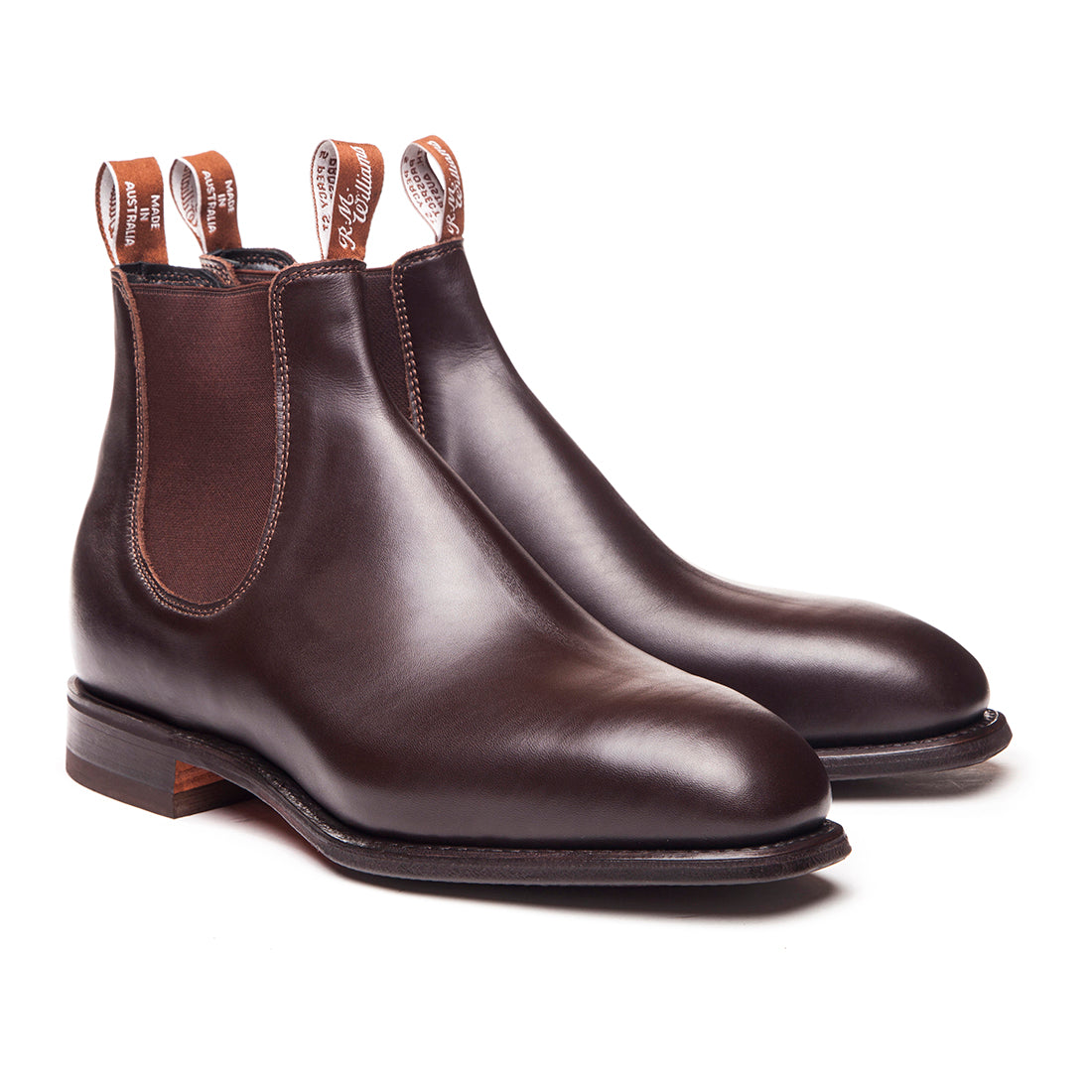 R.M. Williams Dynamic Flex - G Fit - Chestnut