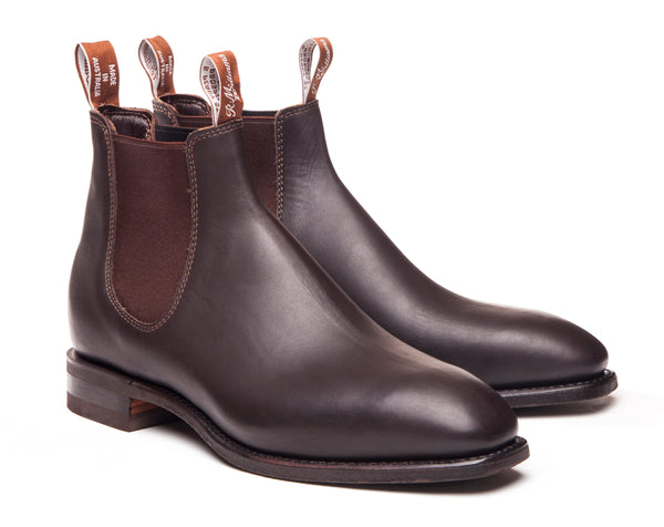 R.M. Williams Comfort Craftsman Boot - H Fit - Chestnut