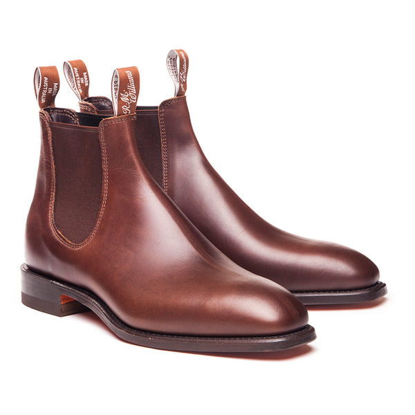 R.M. Williams Comfort Craftsman Boot - G Fit - Rum