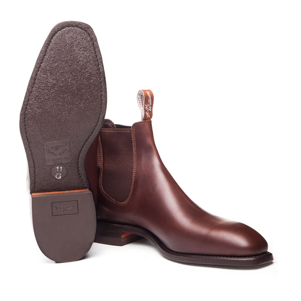 R.M. Williams Comfort Craftsman Boot - H Fit - Rum
