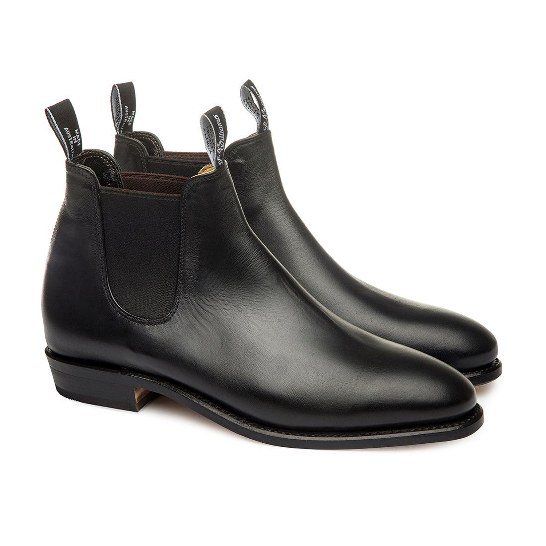 R.M. Williams Classic Adelaide Boot - D Fit - Black