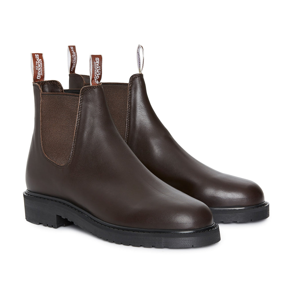 R.M. Williams Stockyard Boot - H Fit - Brown
