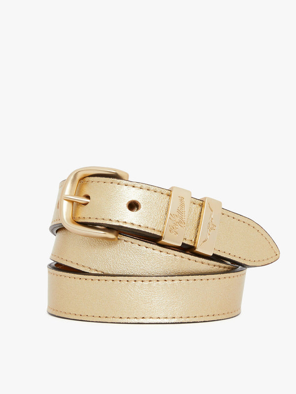 "R.M. Williams 1"" Drover Belt - Gold"