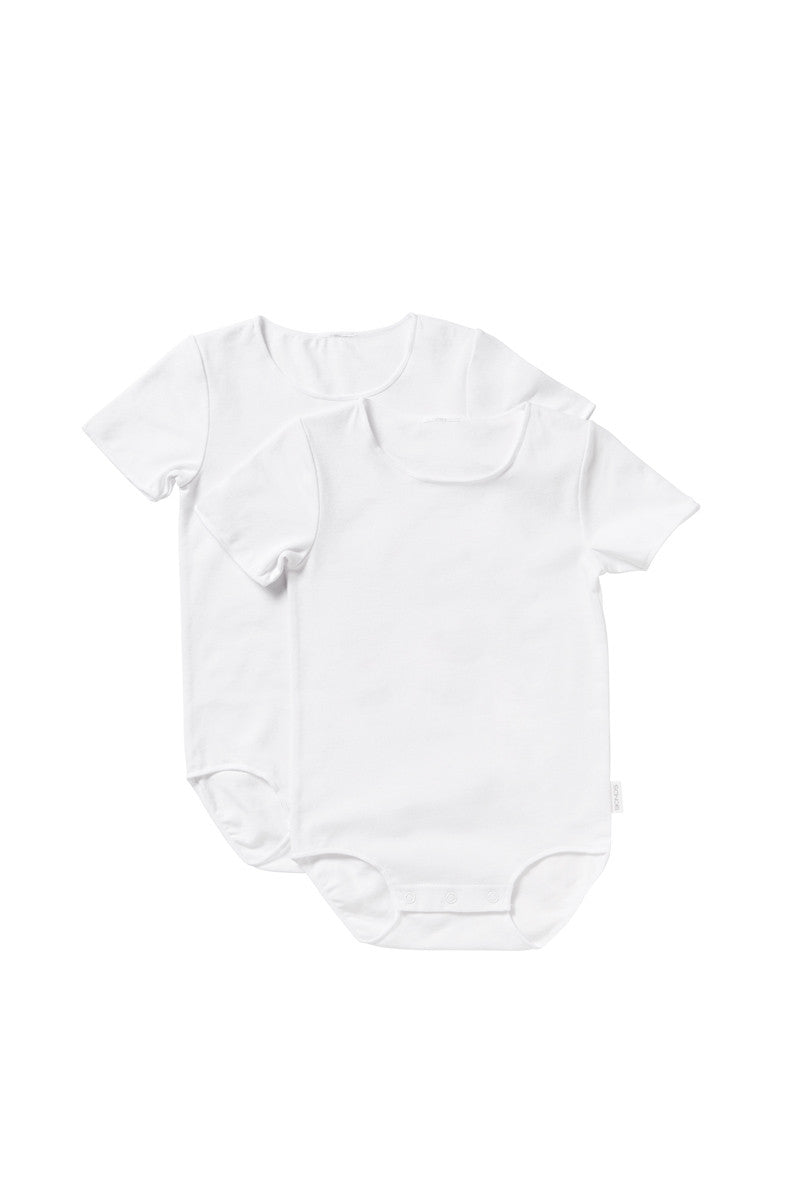 BONDS Baby Wonderbodies Short Sleeve Bodysuit - White