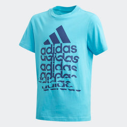 Adidas Boys Badge of Sport Tee